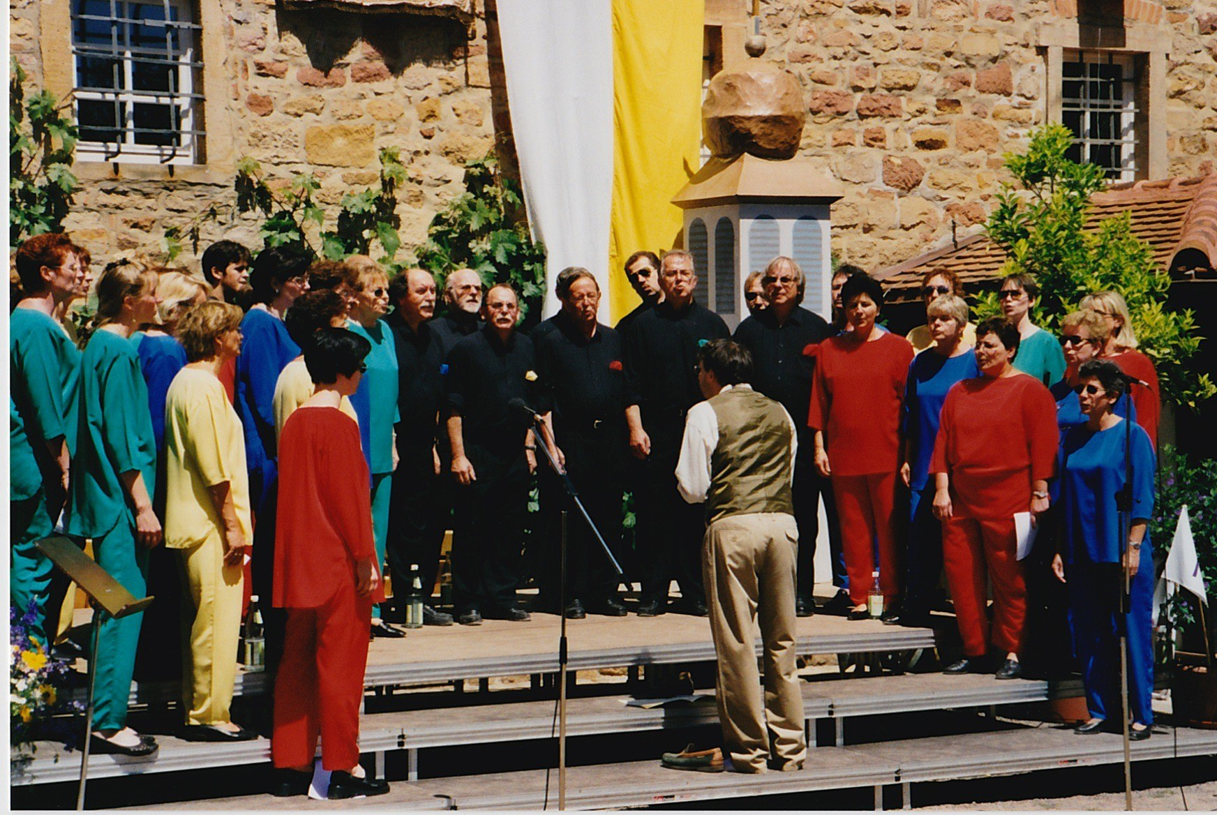 2000 - en Allemagne avec Steve Muriset